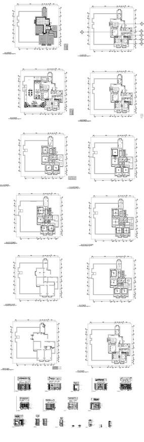 家装CAD图纸