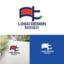 中字形字体LOGO标志