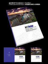国外版式设计商务宣传画册封面设计