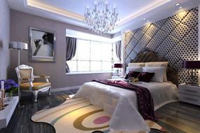 现代清新卧室