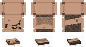 飞机盒包装设计