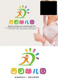 西田幼儿园LOGO设计