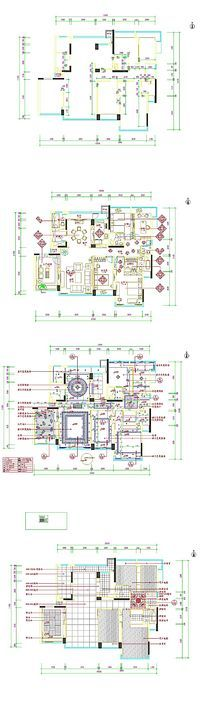 别墅CAD平面图
