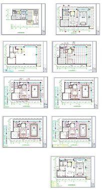 别墅家居CAD平面图