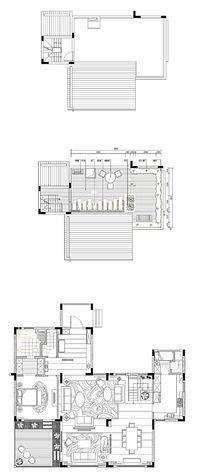 家居布置CAD平面图