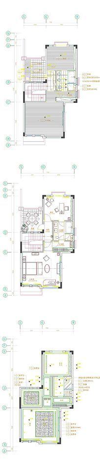 家居设计CAD平面图