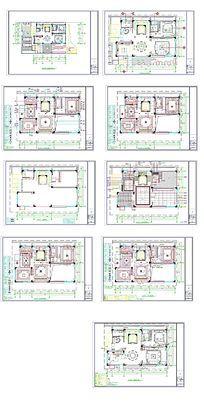 家居装潢CAD平面图