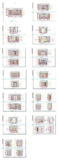 家居装饰CAD立面图