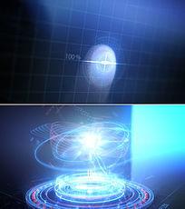 超炫未来科技微信小视频模板