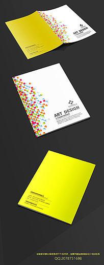 创意方块封面设计