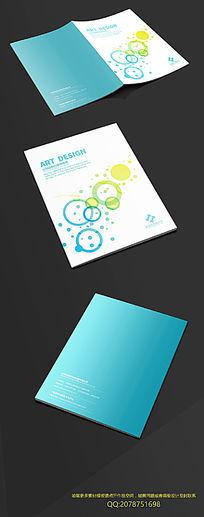 创意简洁圆环封面设计