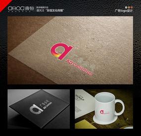 广告公司logo设计时尚AD