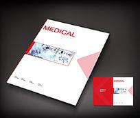 红色大气医疗封面