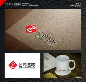 红色公司logo设计