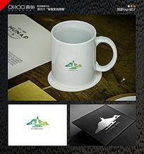 简洁大气的旅游logo