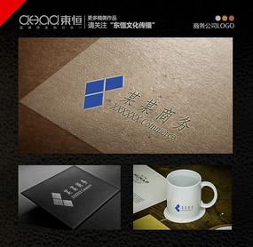 简约商务公司logo设计箭头