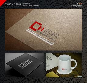 简约线条公司logo