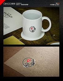 中医logo设计圆形讲堂
