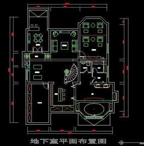 办公室平面布置图