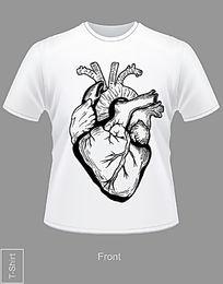 黑白时尚T恤图案