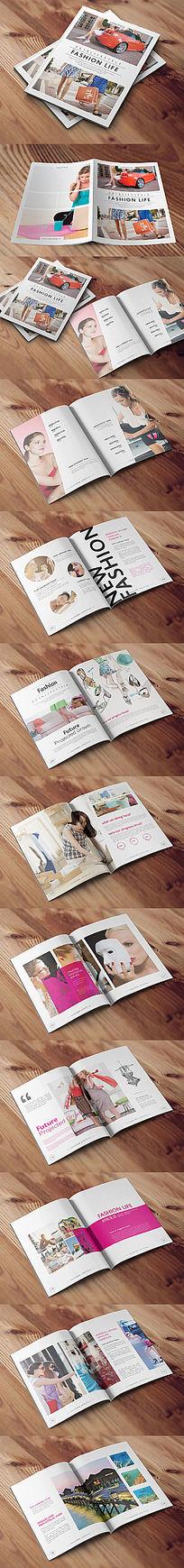 时尚杂志画册