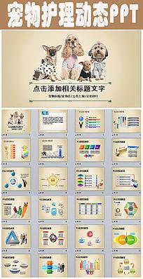 宠物医院宠物店宠物PPT动态模板