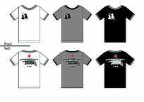 剑道实战搏击动感T恤图案