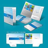 科技企业画册封面封套CDR设计模板素材