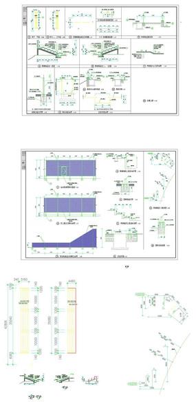 网球场建筑施工图