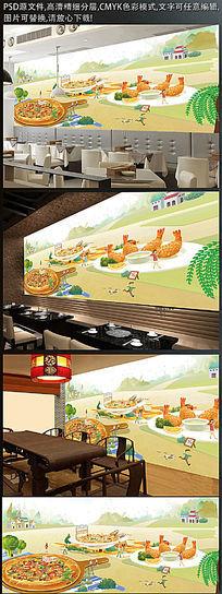 餐厅美食装饰画
