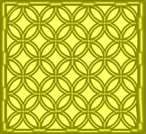 傳統鏤空花紋