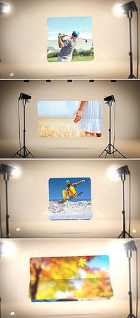 微信产品广告小视频ae模板