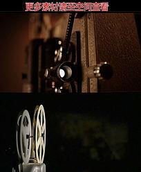 老式电影放映机高清实拍视频素材