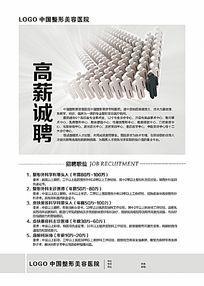 中国整形美容医院招聘