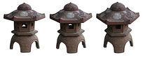 中式石雕草坪灯