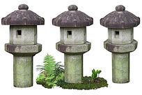 中式塔形草坪灯