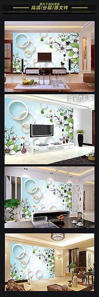 3d客厅沙发背景墙