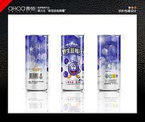 罐装蓝莓汁包装