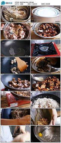 肉粽美食制作视频