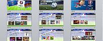 2016年欧洲杯活动策划方案下载PPT时尚创意动态模板