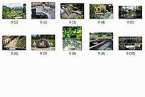 住宅景观中庭水景意向图10P