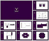 高端简洁房地产VI设计矢量图
