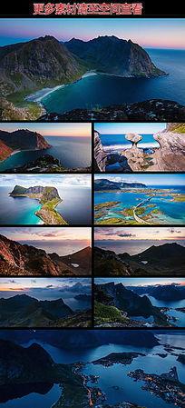 海岸风光自然美景高清实拍视频素材