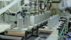 化妆品生产线高清实拍