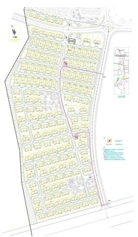 别墅楼盘规划平面图
