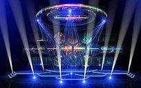 天使时尚舞台设计舞美效果图