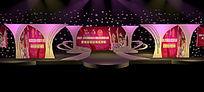 选秀舞台设计舞美效果图