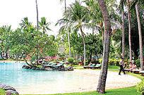 公园景观游泳池