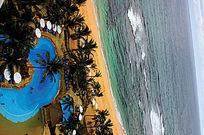 海上游泳池意向图