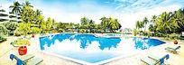 欧式景观爱心游泳池